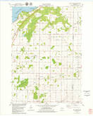 Download a high-resolution, GPS-compatible USGS topo map for New Franken, WI (1979 edition)