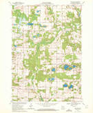Download a high-resolution, GPS-compatible USGS topo map for New Hope, WI (1972 edition)