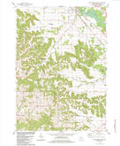 Download a high-resolution, GPS-compatible USGS topo map for New Lisbon South, WI (1984 edition)