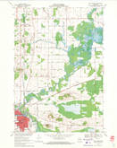 Download a high-resolution, GPS-compatible USGS topo map for New London, WI (1971 edition)