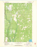 Download a high-resolution, GPS-compatible USGS topo map for New Miner, WI (1971 edition)