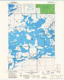 Download a high-resolution, GPS-compatible USGS topo map for New Post, WI (1985 edition)