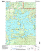 Download a high-resolution, GPS-compatible USGS topo map for New Post, WI (2006 edition)