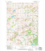 Download a high-resolution, GPS-compatible USGS topo map for Newburg, WI (1994 edition)