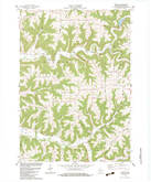 Download a high-resolution, GPS-compatible USGS topo map for Newton, WI (1983 edition)