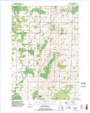 Download a high-resolution, GPS-compatible USGS topo map for Nichols, WI (1996 edition)