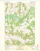 Download a high-resolution, GPS-compatible USGS topo map for North Bend, WI (1971 edition)
