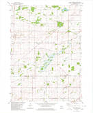 Download a high-resolution, GPS-compatible USGS topo map for North Bristol, WI (1980 edition)