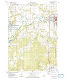 Download a high-resolution, GPS-compatible USGS topo map for North Freedom, WI (1978 edition)
