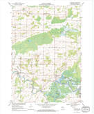 Download a high-resolution, GPS-compatible USGS topo map for Northport, WI (1971 edition)