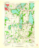 Download a high-resolution, GPS-compatible USGS topo map for Oconomowoc East, WI (1961 edition)