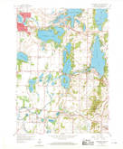 Download a high-resolution, GPS-compatible USGS topo map for Oconomowoc East, WI (1969 edition)