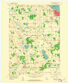 Download a high-resolution, GPS-compatible USGS topo map for Oconomowoc West, WI (1961 edition)