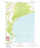 Download a high-resolution, GPS-compatible USGS topo map for Oconto East, WI (1977 edition)