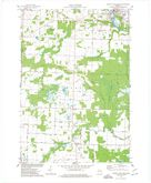 Download a high-resolution, GPS-compatible USGS topo map for Oconto Falls South, WI (1977 edition)