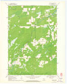 Download a high-resolution, GPS-compatible USGS topo map for Ogema NW, WI (1972 edition)
