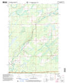 Download a high-resolution, GPS-compatible USGS topo map for Ogema NW, WI (2006 edition)
