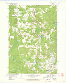 Download a high-resolution, GPS-compatible USGS topo map for Ogema, WI (1972 edition)