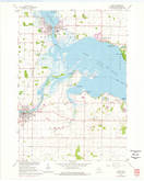 Download a high-resolution, GPS-compatible USGS topo map for Omro, WI (1976 edition)