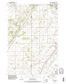 Download a high-resolution, GPS-compatible USGS topo map for Oneida South, WI (1996 edition)