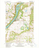 Download a high-resolution, GPS-compatible USGS topo map for Osceola, WI (1979 edition)
