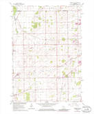 Download a high-resolution, GPS-compatible USGS topo map for Oshkosh NE, WI (1986 edition)