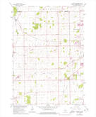 Download a high-resolution, GPS-compatible USGS topo map for Oshkosh NE, WI (1977 edition)