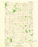 Download a high-resolution, GPS-compatible USGS topo map for Oshkosh NE, WI (1966 edition)