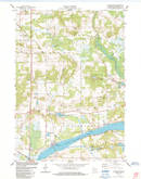 Download a high-resolution, GPS-compatible USGS topo map for Packwaukee, WI (1984 edition)
