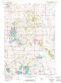 Download a high-resolution, GPS-compatible USGS topo map for Paddock Lake, WI (1990 edition)