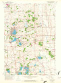 Download a high-resolution, GPS-compatible USGS topo map for Paddock Lake, WI (1972 edition)