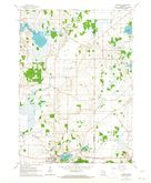 Download a high-resolution, GPS-compatible USGS topo map for Palmyra, WI (1964 edition)