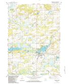 Download a high-resolution, GPS-compatible USGS topo map for Pardeeville, WI (1984 edition)