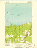 Download a high-resolution, GPS-compatible USGS topo map for Parkland, WI (1955 edition)
