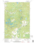 Download a high-resolution, GPS-compatible USGS topo map for Parrish, WI (1990 edition)
