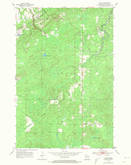 Download a high-resolution, GPS-compatible USGS topo map for Patzau, WI (1974 edition)
