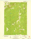 Download a high-resolution, GPS-compatible USGS topo map for Patzau, WI (1955 edition)