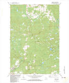 Download a high-resolution, GPS-compatible USGS topo map for Pembine, WI (1983 edition)