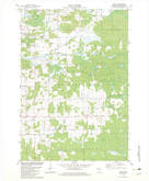 Download a high-resolution, GPS-compatible USGS topo map for Peplin, WI (1982 edition)