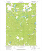 Download a high-resolution, GPS-compatible USGS topo map for Pickerel, WI (1977 edition)