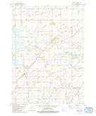 Download a high-resolution, GPS-compatible USGS topo map for Pickett, WI (1981 edition)