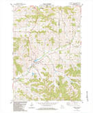 Download a high-resolution, GPS-compatible USGS topo map for Pigeon Falls, WI (1984 edition)