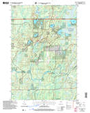 Download a high-resolution, GPS-compatible USGS topo map for Pike Lake NW, WI (2006 edition)
