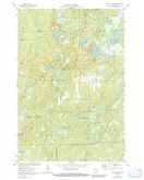 Download a high-resolution, GPS-compatible USGS topo map for Pike Lake NW, WI (1991 edition)