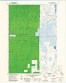 Download a high-resolution, GPS-compatible USGS topo map for Pike Lake SE, WI (1985 edition)
