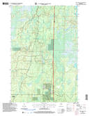 Download a high-resolution, GPS-compatible USGS topo map for Pike Lake SE, WI (2006 edition)