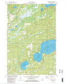 Download a high-resolution, GPS-compatible USGS topo map for Pioneer Lake, WI (1982 edition)