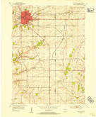 Download a high-resolution, GPS-compatible USGS topo map for Platteville, WI (1954 edition)