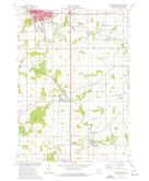 Download a high-resolution, GPS-compatible USGS topo map for Plymouth South, WI (1977 edition)