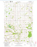 Download a high-resolution, GPS-compatible USGS topo map for Poland, WI (1979 edition)